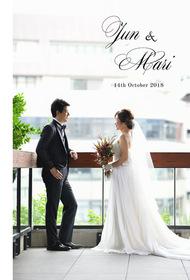 TRUNKホテルの結婚式。