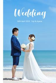 ジンバランビーチの結婚式。