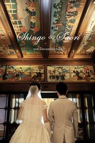 ホテル雅叙園東京の結婚式。