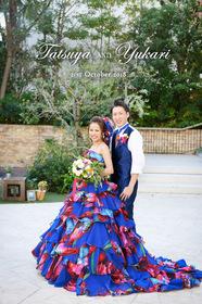 ラピスアジュールの結婚式。