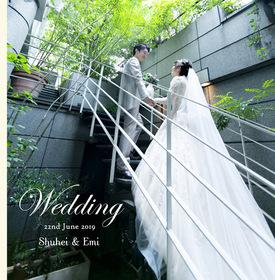 angepatioの結婚式。