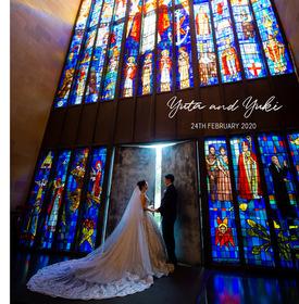 セントアンドリュース大聖堂の結婚式。