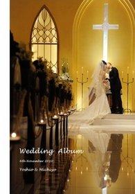 赤坂ル・アンジェ教会の結婚式。