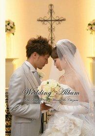 【挙式・披露宴】 新郎新婦の表情がGOOD!結婚式を楽しんでいる様子が伝わります。