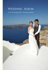 サントリーニ島の挙式、ロケーション撮影と、その後の旅行の様子をまとめたアルバムです。