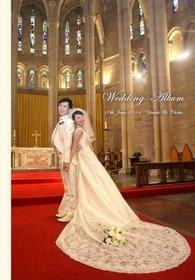 セントジョンズ アングリカン・カテドラル教会の結婚式。