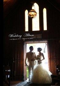リトルチャーチオブザウエストの結婚式。