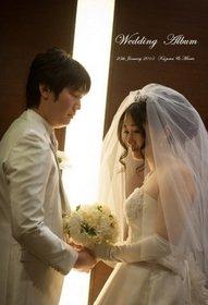 【挙式・披露宴】 ご両親や出席者の表情もよくわかります。和やかな雰囲気が伝わる結婚式です。