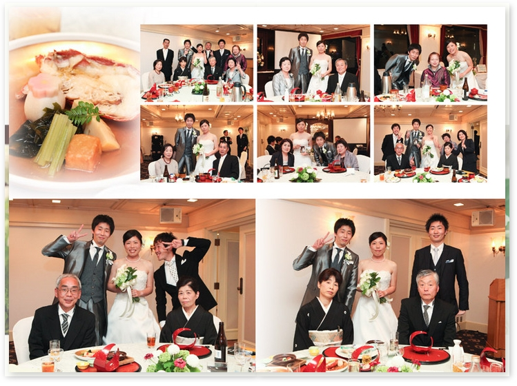 7:KKRホテル東京−結婚式アルバム−アルバムカフェ