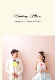 【フォトウエディング】 カラードレスとウエディングドレス、2種類の衣装でのフォトウェディングのアルバムです。