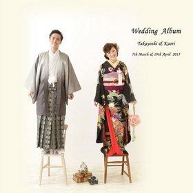 【挙式・披露宴・前撮り・パーティー】 前撮りは和装、ドレスの他に、ドレスの上にシャツを羽織ってカジュアルな衣装も。