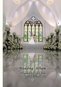この度はお世話になりました。結婚式アルバム。