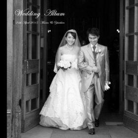 結婚式アルバムが届きました。結婚式アルバム。