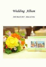 結婚式アルバム届きました(*^_^*)申し込みしてから画像をアップするまで時間がかかってしまい、申し訳ありませんでした。結婚式アルバム。