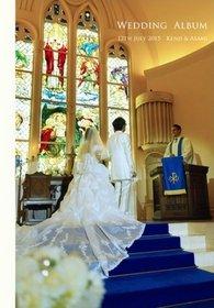挙式はゲストの方による撮影、披露宴、二次会はプロカメラマンによる撮影での結婚式アルバムとなっています。結婚式アルバム。