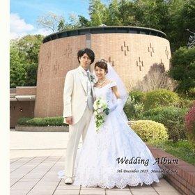 大阪のホテル阪急エキスポパークにて挙式・披露宴されました。結婚式アルバム。