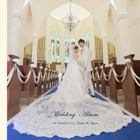 お世話になっております。結婚式アルバム。