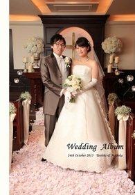 。結婚式アルバム。