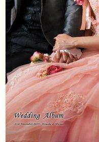 ありがとうございました。結婚式アルバム。