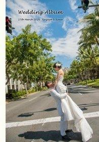 ハワイでのロケーション撮影と新婚旅行をまとめました。結婚式アルバム。