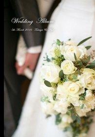 南青山ルアンジェ教会での挙式と撮影の様子を収めた結婚式アルバムです。結婚式アルバム。