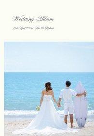 新郎新婦のみでバリ島のビーチで挙式とロケーション撮影をされました。結婚式アルバム。