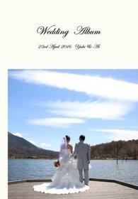 撮影者は新婦のお父様、挙式中は新婦のご姉妹が撮影されました。結婚式アルバム。