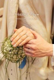 フォレスターナ軽井沢 光のチャペルでの挙式・披露宴と、ビーチでのロケーション撮影を一冊にまとめました。結婚式アルバム。