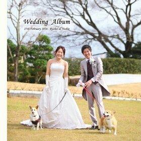 全てプロ撮りのきれいなお写真でまとめています。結婚式アルバム。