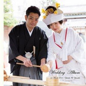 挙式は牛嶋神社で行い、その後レストランに移動をされて。結婚式アルバム。