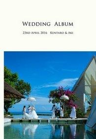 バリ島のTIRTHA ULUWATUにて挙式されました。結婚式アルバム。