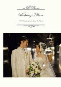 ドレスの良さと会場の雰囲気を引き出してほしいとのご要望をいただきました。結婚式アルバム。