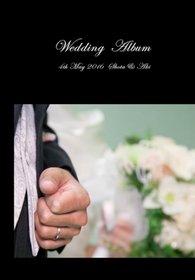 昨日結婚式アルバムが届きました。結婚式アルバム。