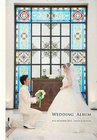 こんばんは。結婚式アルバム。