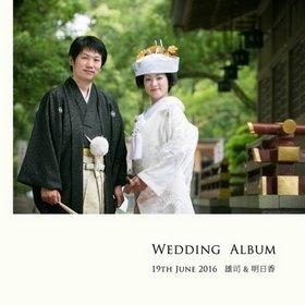 デザインのイメージとして「華やかな和」をデザインのイメージとしてご要望いただきました。結婚式アルバム。