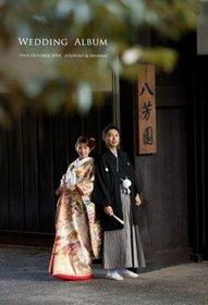 八芳園での前撮り、挙式披露宴です。結婚式アルバム。