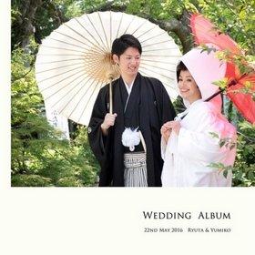 大変お世話になっています。結婚式アルバム。