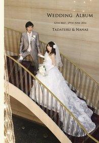 本日届きました。結婚式アルバム。