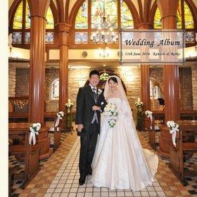 式場は新横浜の HANZOYA Wedding。結婚式アルバム。