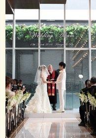ラグナヴェール大阪での挙式、披露宴です。結婚式アルバム。