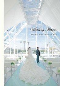 インターネットで検索をかけたら一晩最初に出てきたのが結婚式アルバムカフェさんでした。結婚式アルバム。