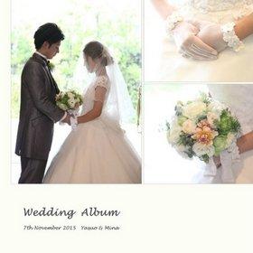 素朴な木の温かみと陽光が差し込む、優しい雰囲気のチャペルでの挙式。結婚式アルバム。
