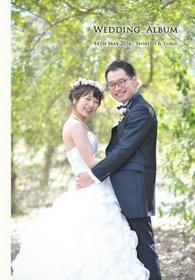 挙式はガーデンテラス東山。結婚式アルバム。