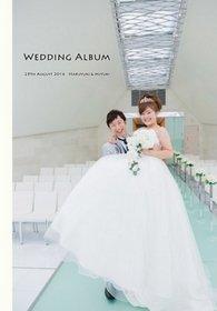 この度はお世話になり、ありがとうございました。結婚式アルバム。