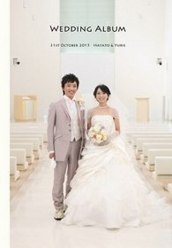 この度は、とても素敵な結婚式アルバムを作成してもらいありがとうございます。結婚式アルバム。