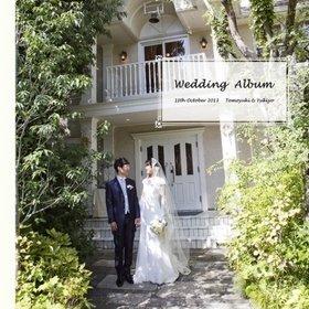 「ナチュラル&アットホーム」をテーマに挙式されました。結婚式アルバム。