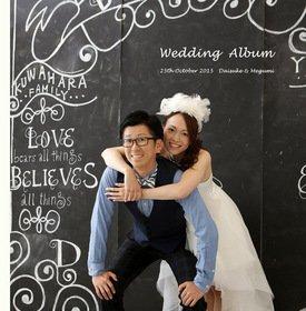 【前撮り和装、洋装・挙式・披露宴・二次会・新婚旅行】 新婚旅行の写真も綺麗ですね。大事な写真は是非一眼レフで!