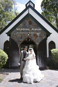 クーリバ ダウンズ チャペル(オーストラリア)の結婚式。