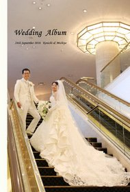 結婚式アルバム作成ありがとうございました。結婚式アルバム。