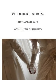 色打掛、ウェディングドレス、カラードレス、それぞれの前撮りと当日の写真を収めたアルバムです。